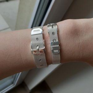 NEW Sterling Silver Belt Bracelet Jewelry Chic